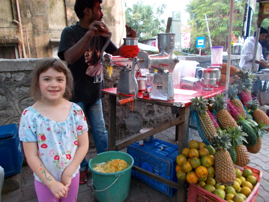 Audrey loves her mixed juices from this guy. Sweet lime juice is another refreshing favourite