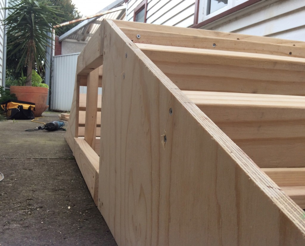 straight ramp, top and a curved ramp all in one.